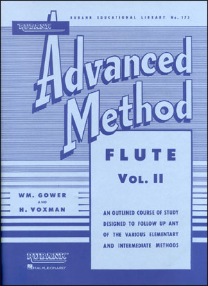 Rubank Advanced Method For Flute - Volume 2