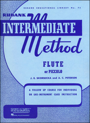 Rubank Intermediate Method For Flute/Piccolo