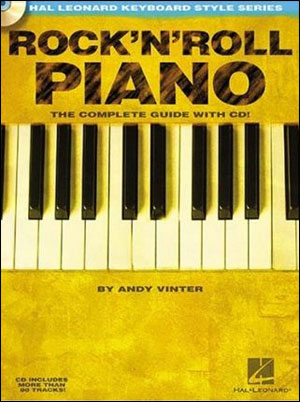 ROCK'N'ROLL PIANO - Hal Leonard Keyboard Style Series