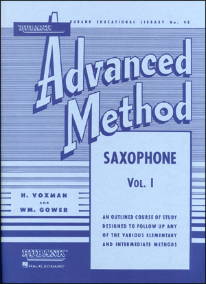 Rubank Advanced Method For Saxophone - Volume 1