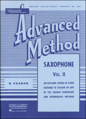 Rubank Advanced Method For Saxophone - Volume 2