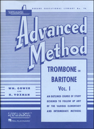 Rubank Advanced Method For Trombone/Bari - Volume 1