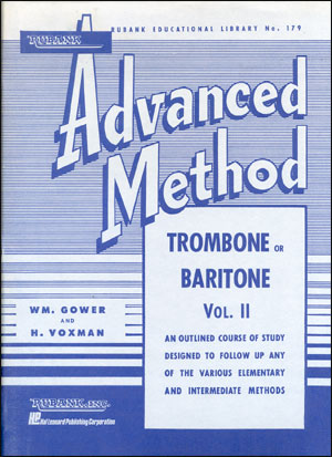 Rubank Advanced Method For Trombone/Bari - Volume 2