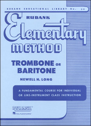 Rubank Elementary Method For Trombone/Baritone