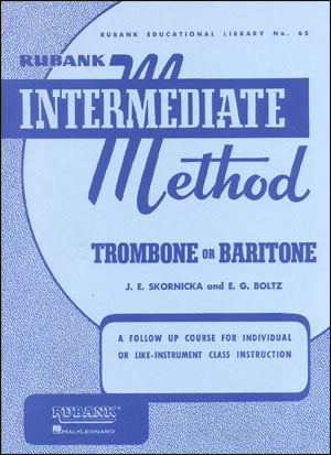 Rubank Intermediate Method For Trombone/Baritone