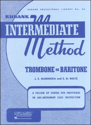Rubank Intermediate Method For Trombone/Baritone