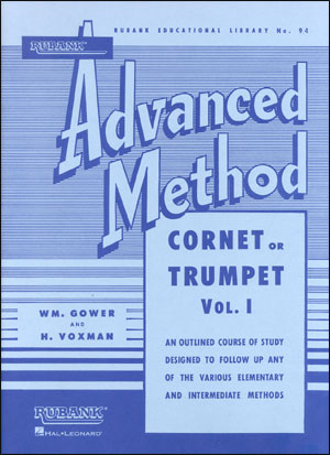 Rubank Advanced Method For Trumpet/Cornet - Volume 1