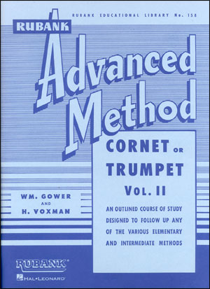 Rubank Advanced Method For Trumpet/Cornet - Volume 2