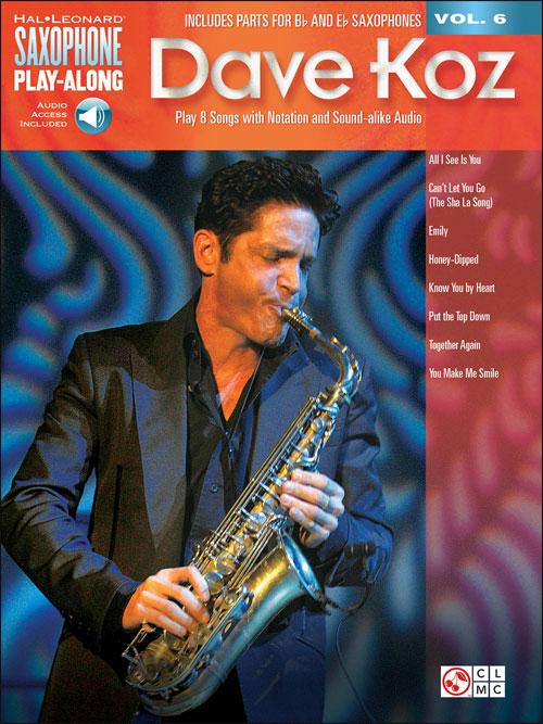 Saxophone Play-Along Vol. 6: Dave Koz