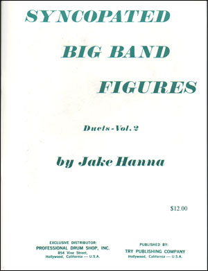 Syncopated Big Band Figures - Duets, Vol. 2 by Jake Hanna
