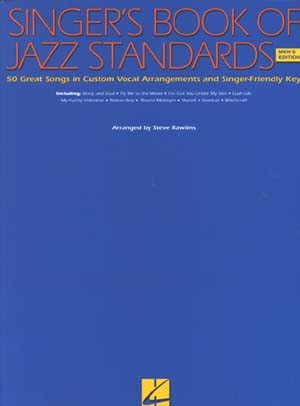 Singer's Book Of Jazz Standards for Men