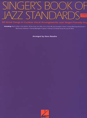 Singer's Book Of Jazz Standards for Women
