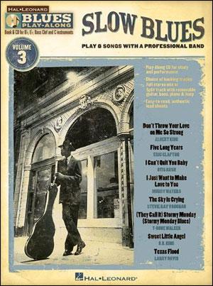 Slow Blues - Blues Play-Along Volume 3