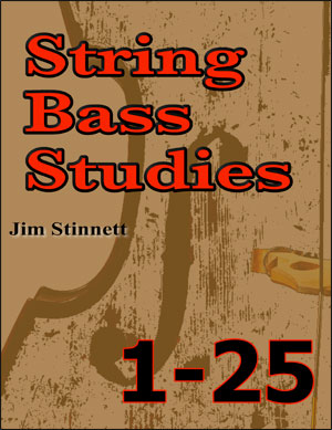 String Bass Studies 1-25