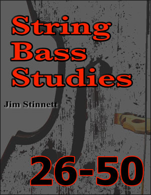 String Bass Studies 26-50