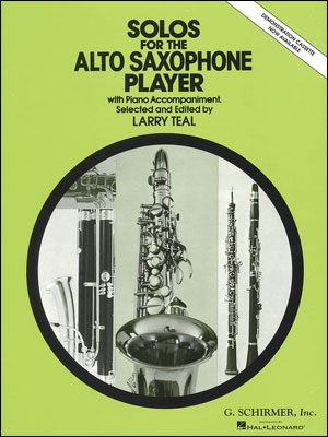 Solos For The Alto Saxophone w/ Piano Accompaniment