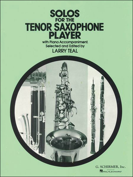 Solos For The Tenor Saxophone w/ Piano Accompaniment