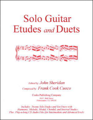 Solo Guitar Etudes and Duets