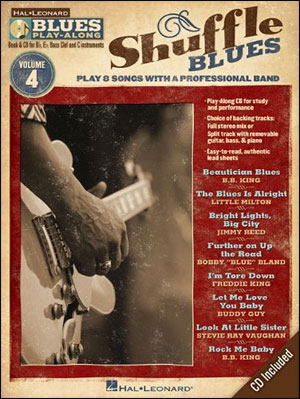 Shuffle Blues - Blues Play-Along Volume 4
