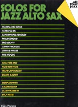 Solos For Jazz Alto Sax