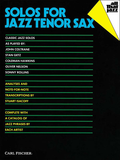Solos For Jazz Tenor Sax