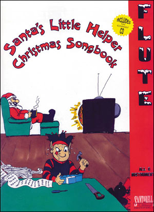 SANTA'S LITTLE HELPER CHRISTMAS SONGBOOK FOR FLUTE