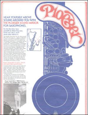 Ploeger's Saxophone Sound Mirror