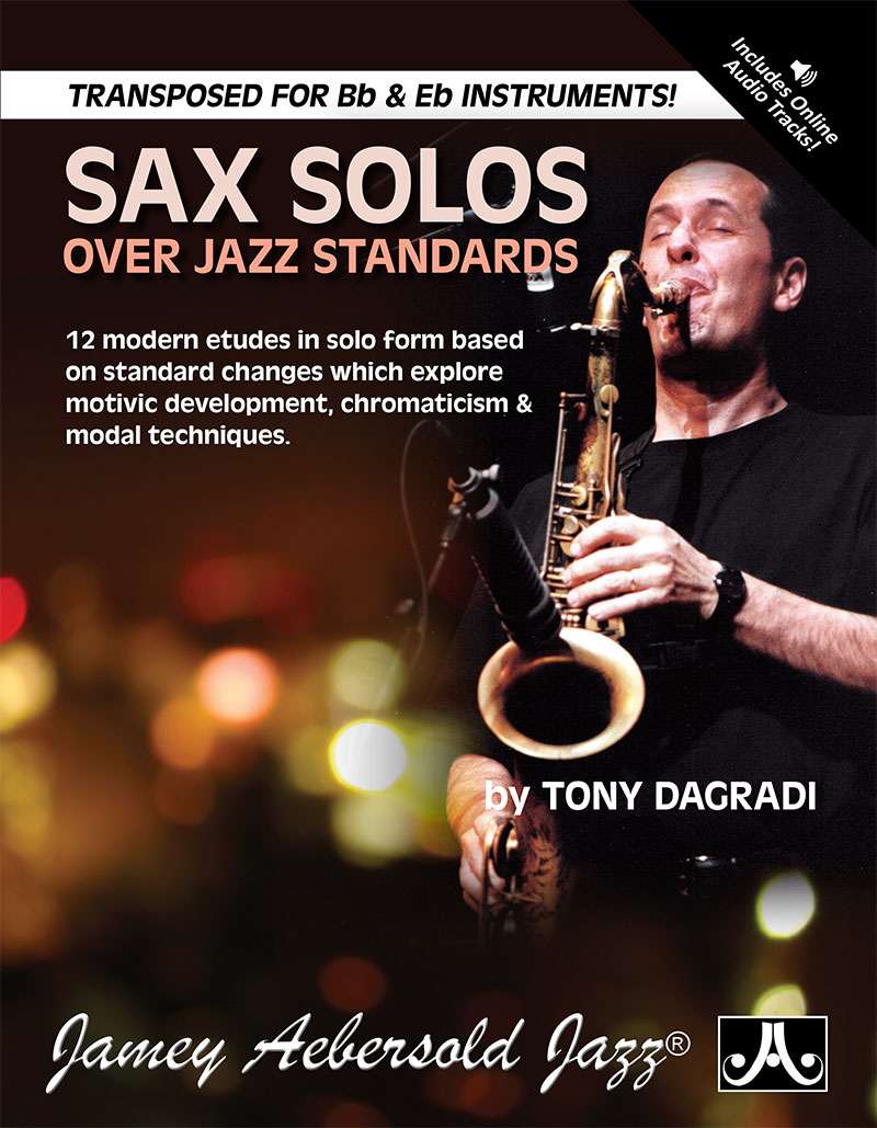Sax Solos Over Jazz Standards - Book/Downloadable Audio