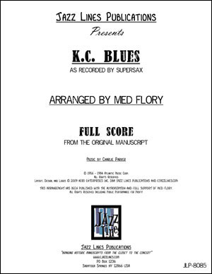 Supersax Arrangement - K.C. Blues