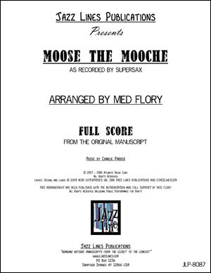 Supersax Arrangement - Moose The Mooche