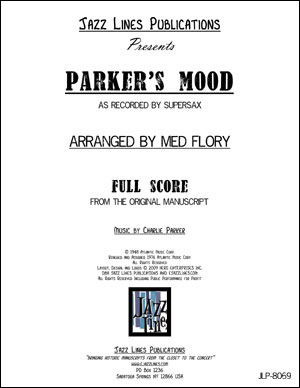 Supersax Arrangement - Parker's Mood