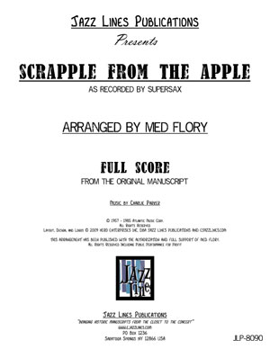 Supersax Arrangement - Scrapple From The Apple