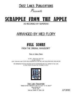Supersax Arrangement - Scrapple From The Apple