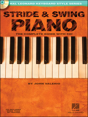 Stride & Swing Piano - Hal Leonard Keyboard Style Series