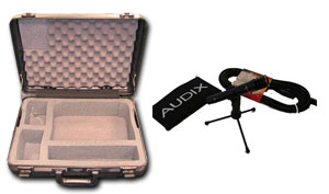 Superscope Case +  Audix F15 Mic Kit