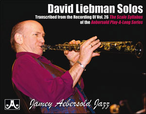 Volume 26 Scale Syllabus Solos By David Liebman