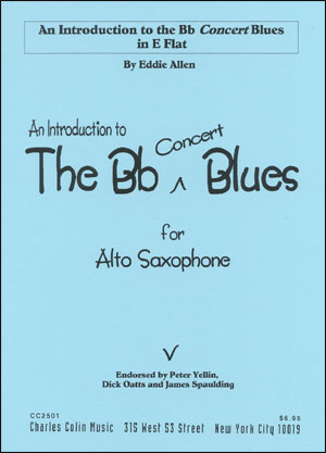 An Introduction To The B Flat Blues for E Flat Instruments