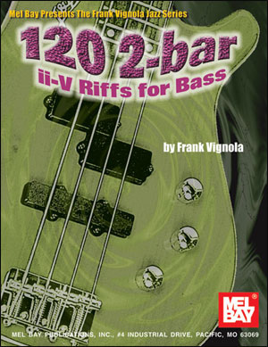 120 2-Bar ii-V Riffs - Bass