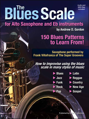 The Blues Scale for Alto Sax & E Flat Instruments - Bk/CD