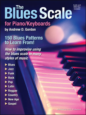 The Blues Scale for Piano/Keyboards - Bk/CD