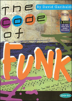 David Garibaldi : The Code of Funk - Bk/CD + 2 DVDs
