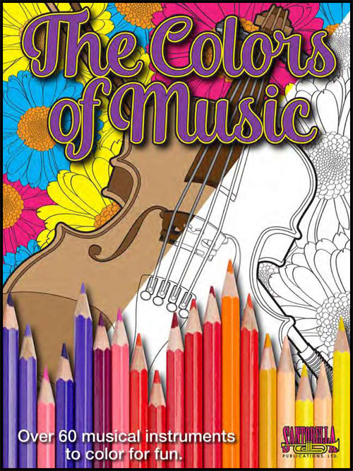 The Colors of Music - Coloring Book
