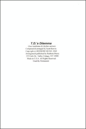 T.D.'s Dilemma - Trombone Quartet
