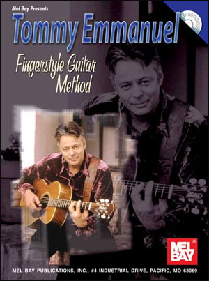 Tommy Emmanuel Fingerstyle Guitar Method Book/CD Set