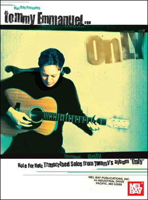 Tommy Emmanuel - Only (Book Only)