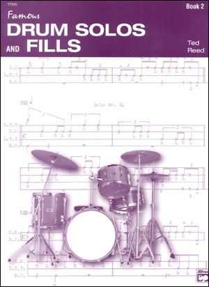 Drum Solos And Fills Book #2 - By Ted Reed