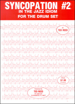 Syncopation For The Drummer Volume 2 - By Ted Reed