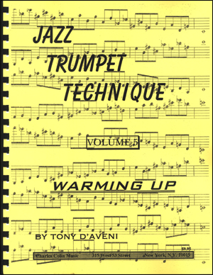 Jazz Trumpet Technique Volume #5 - Warming Up