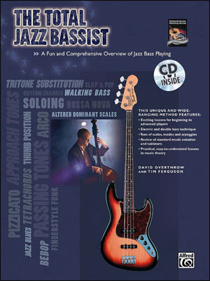 The Total Jazz Bassist - Bk/CD
