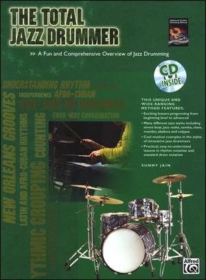 The Total Jazz Drummer - Bk/CD